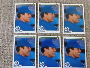 1990 Upper Deck Nolan Ryan # 544 lot of 6 Mint Texas Rangers. GOAT HOF Card psa