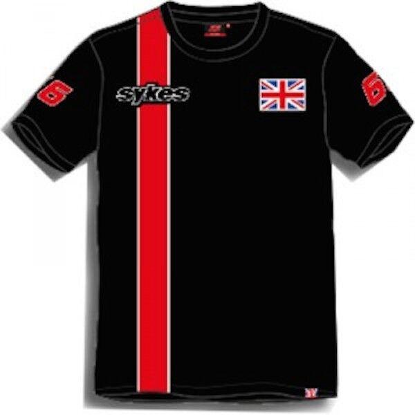 New Official Tom Tom Tom Sykes T'Shirt - 15 31902   Moderne Muster    Förderung  cb7027
