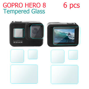 Tempered glass screen protector for sports camera accessories for GoPro Hero 8