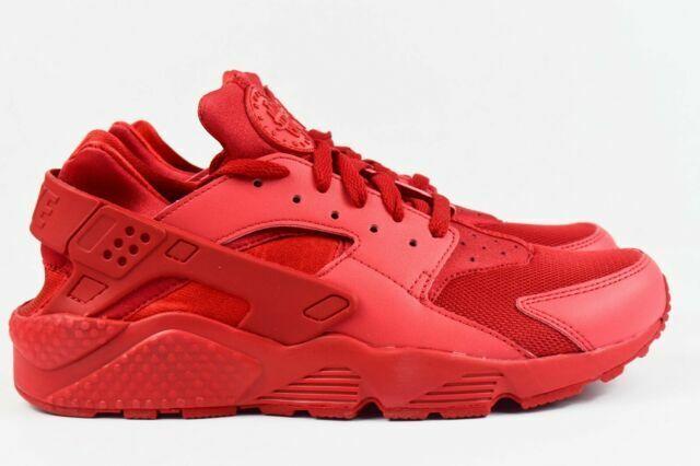 Nike 318429-660 Air Huarache Men Running Shoes Size 11 - Red