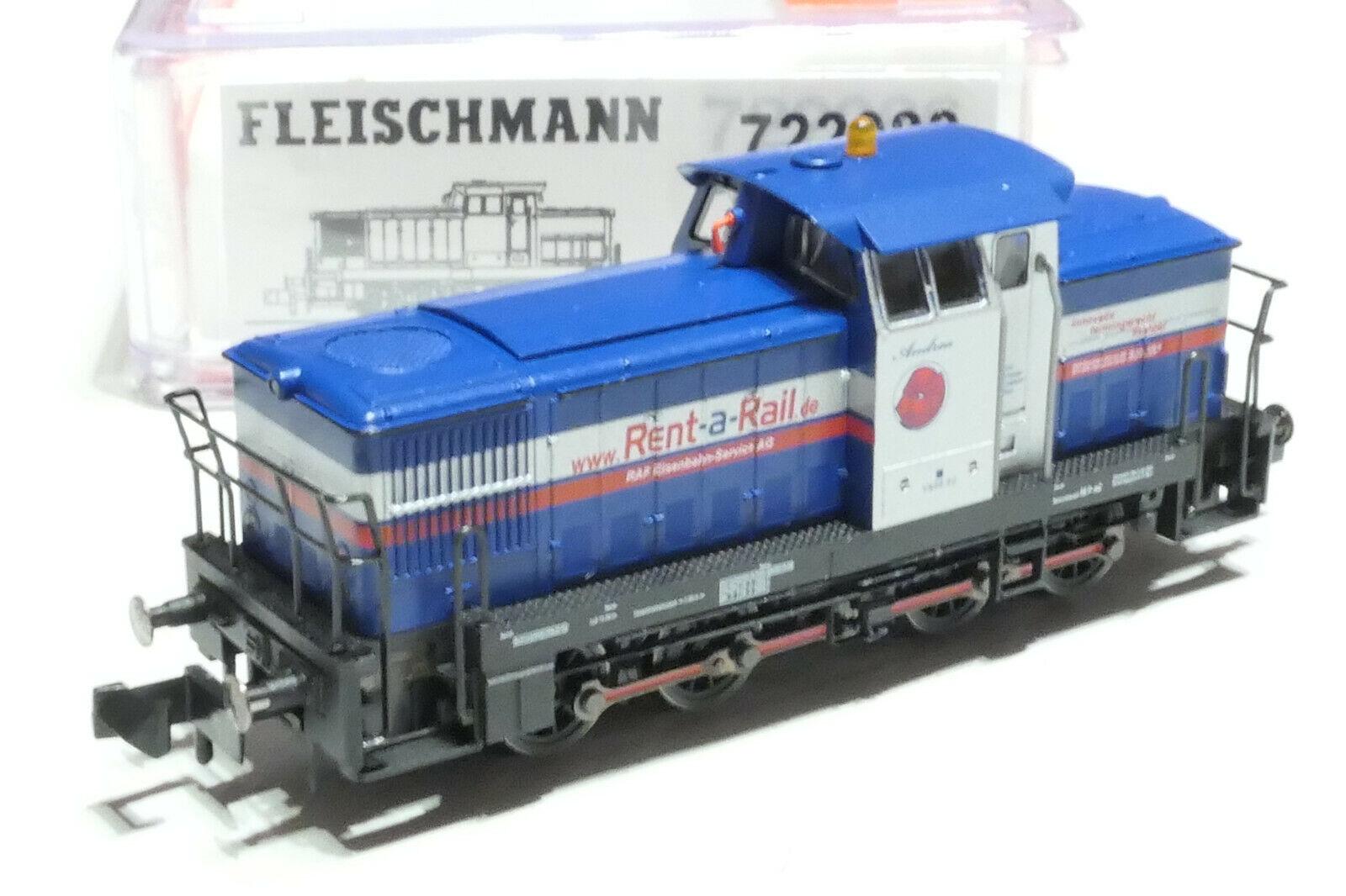 Fleischuomon N DB AG Rent a Rail v665.02 BLU 722088 NUOVO OVP Digital
