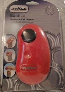 ZYLISS-EasiCan-Electric-Can-Opener-Red-New