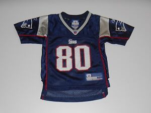 efd6a617 Details about Reebok TROY BROWN Blue NEW ENGLAND PATRIOTS Toddler NFL Team  Replica JERSEY 2T