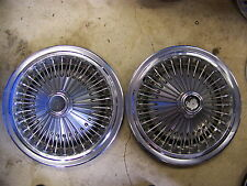 1975 76 77 78 DODGE CHARGER WIRE HUBCAPS WHEEL COVERS CORDOBA DIPLOMAT MAGNUM