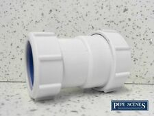 "European Pipe Adaptor 40mm to 1 1/2"" 41mm - 43mm McALPINE T28L-ISO Joiner"