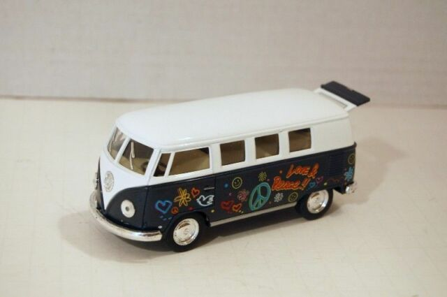 Kinsmart 1962 Green Volkswagen Classical Peace Scale 1:64 New