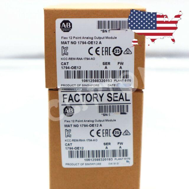 2020 New Factory Seal Allen Bradley 1794-IE12 Flex 12