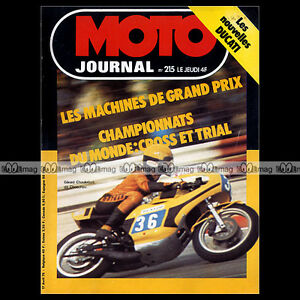 MOTO-JOURNAL-N-215-TCHERNINE-GUZZI-850-T3-750-S3-DUCATI-125-350-500-GTL-1975