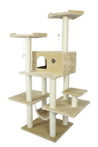 New-BestPet-70-034-Cat-Tree-Condo-Furniture-Scratch-Post-Pet-House-11B