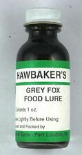 Grey Fox Food Lure Hawbakers grey fox trapping Lure 1oz Gray fox attractant.L113