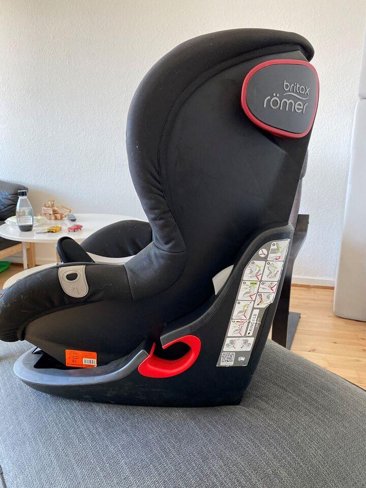 Autostol, op til 18 kg , Britax Römer King ll LS