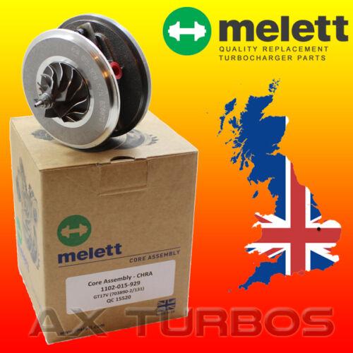 Melett UK turbolader rumpfgruppe Audi A4 A5 A6 Cabrio Q5 S5 2.0 TDI 170 ps CAHA