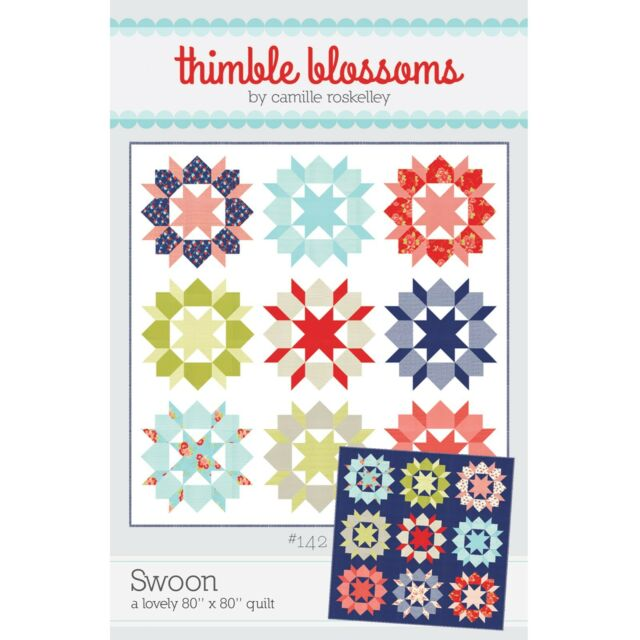 Swoon Quilt Pattern #142 by Thimble Blossoms | eBay