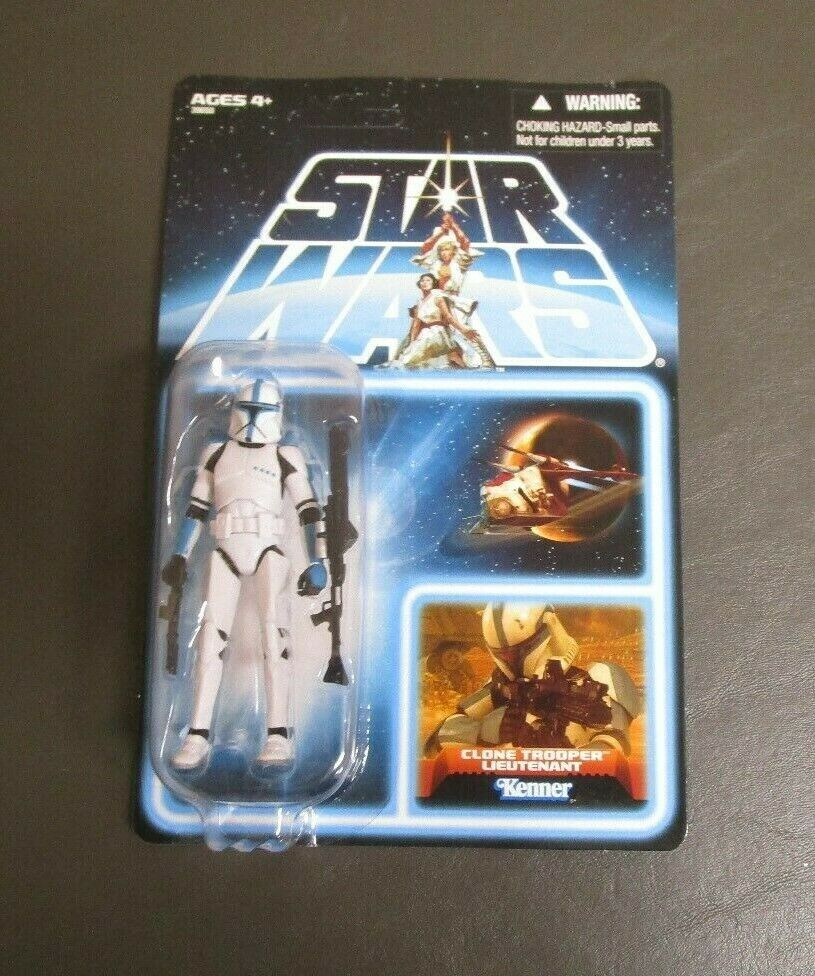 Clone Trooper Lieutenant 2012 STAR WARS Vintage Collection EP202 UNPUNCHED