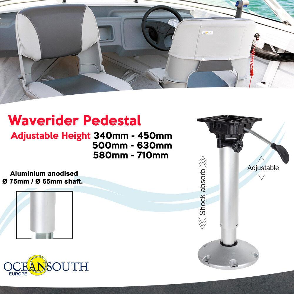 Oceansouth Waverider Stuhlfuss (Anti-Shock, höhenverstellbar) für Stiefelsitze