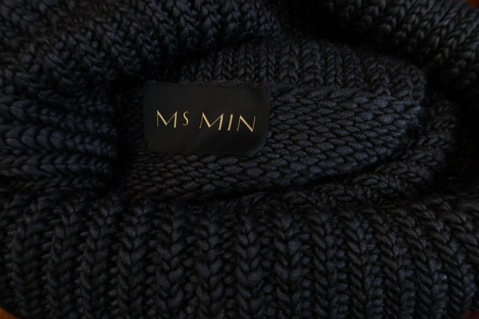 MS MIN 4/S US  Heavy Chunky Knit Off The Shoulder… - image 4