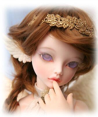 BJD Doll 1//4 Flowne ELF free eyes face make up