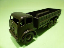DINKY TOYS 622 10 TON ARMY TRUCK - ARMY GREEN 1:55? - GOOD COND - MILITARY