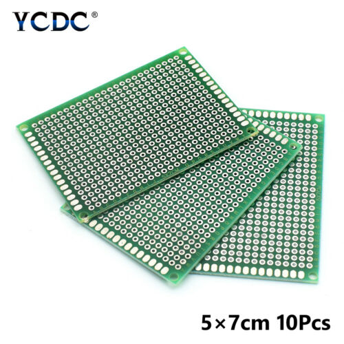 DOUBLE-SIDED PCB CIRCUIT BOARD PROTOTYPE BREADBOARD FOR ARDUINO DIY PROJECT