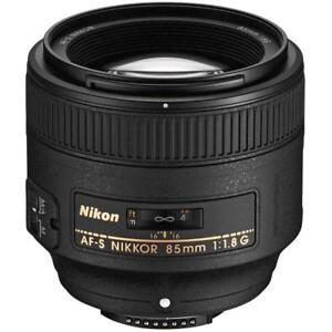 Nikon-AFS-85mm-F1-8G-Medium-Telephoto-Lens-Brand-New