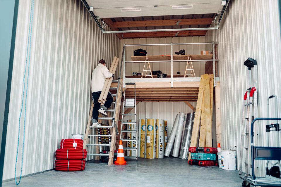 25% rabat - 28-56 kvm garager & lagre til leje...