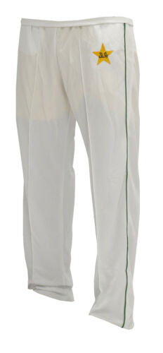 HIGH QUALITY CRICKET TROUSER WITH PAKISTAN LOGO LARGE MENS 34-36 INCHES