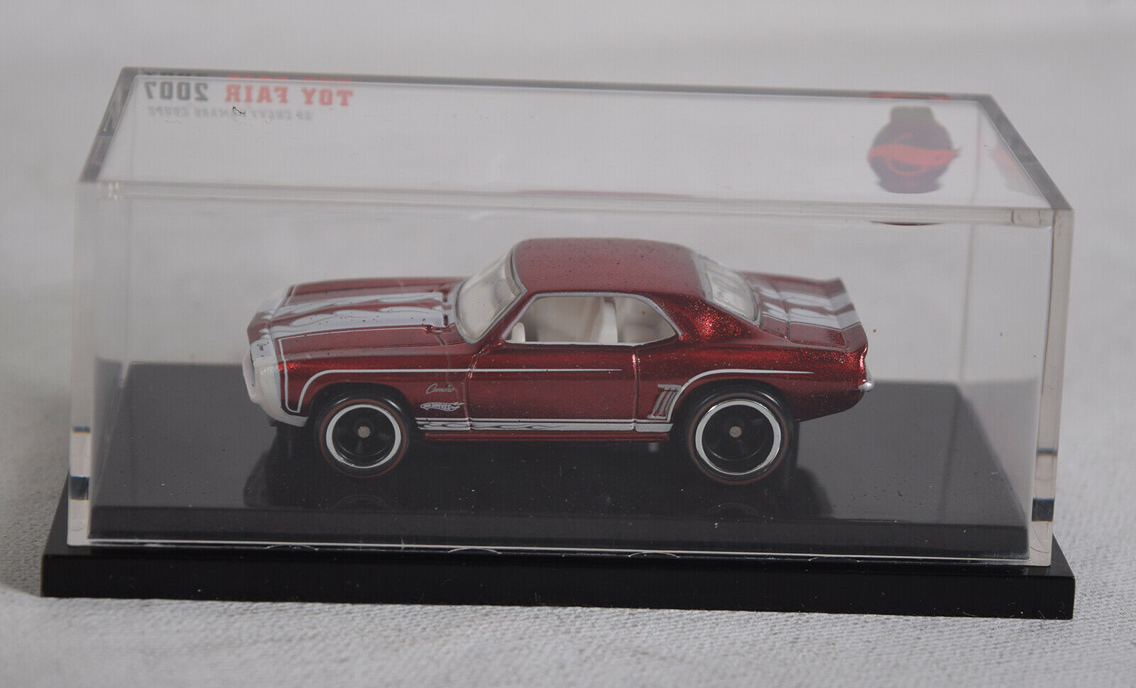 Hot Wheels '69 Chevy Camaro Coupe Toy Fair 2007 Die Cast Car