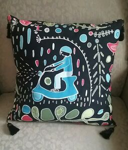 Details About Decorative Pillow 14 Inch Ikea One Of A Kind Fabric Kajsa Aronsson Cotton