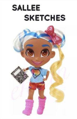 NEW Series 2 Hairdorables Doll •SALLEE SKETCHES• Only the doll has been opened
