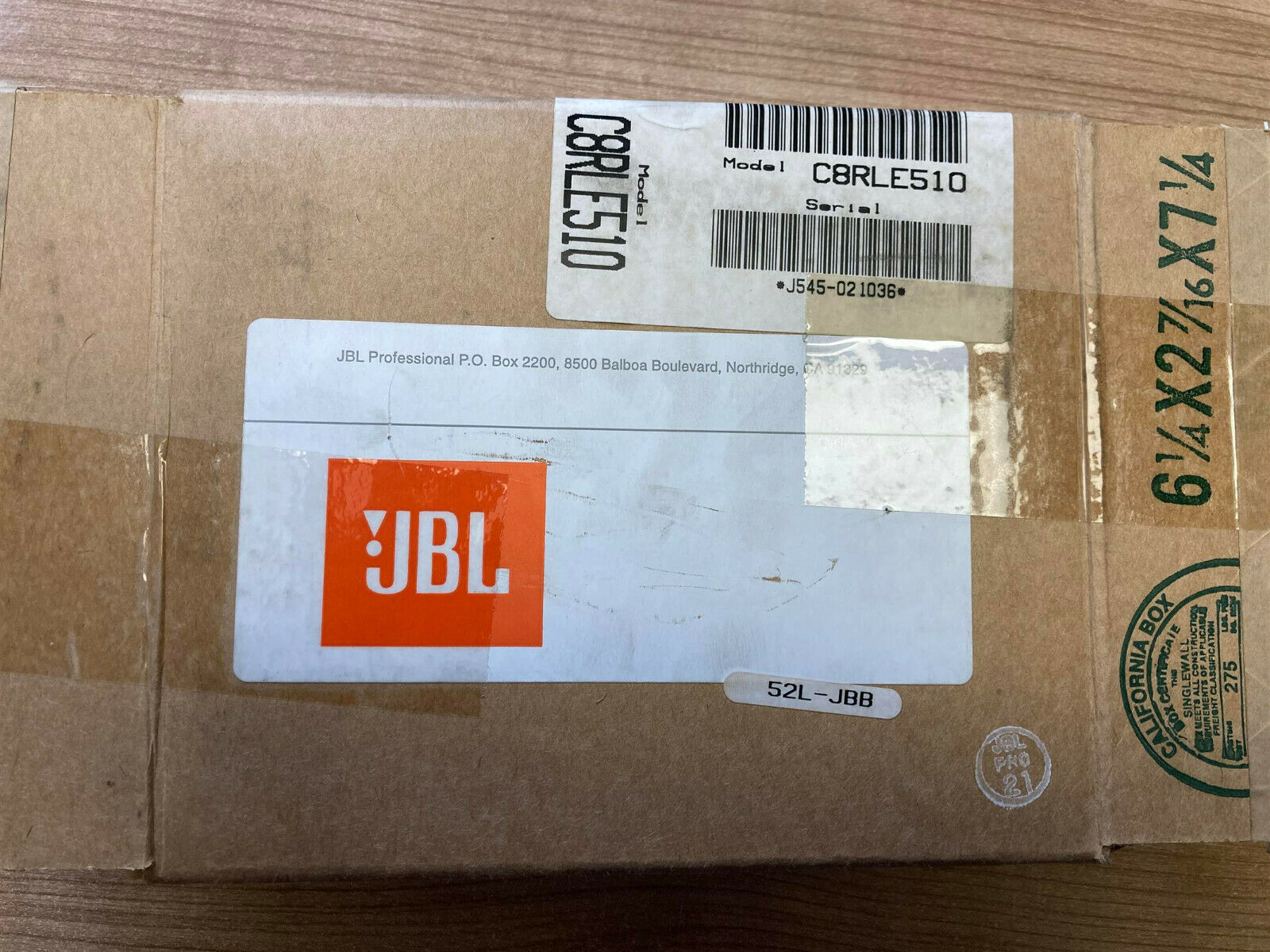 JBL Recone Kit C8RLE510 for LE5