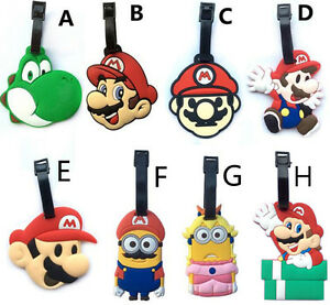 Super-mario-brothers-yoshi-lots-style-luggage-tag-baggage-tips-silica-gel-cute-g