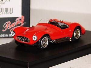 MASERATI-A6-GCS-STREET-1953-RED-BANG-7307-1-43