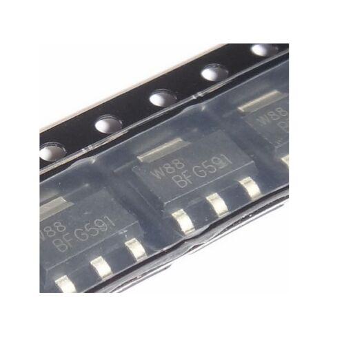 10PCS NEW NXP BFG591 SOT-223 NPN 7GHz Wideband Transistor NEW