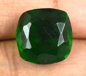 Cushion 11.80 Carat/14 mm Muzo Colombian Emerald Gems Natural Certified G2405