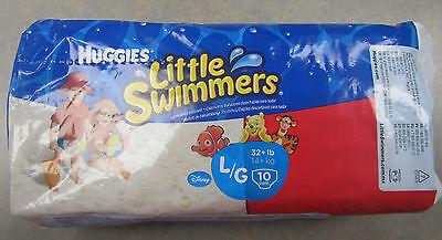 Little Swimmers Swim Pants LARGE 32lb Boys or Girls HUGGIES