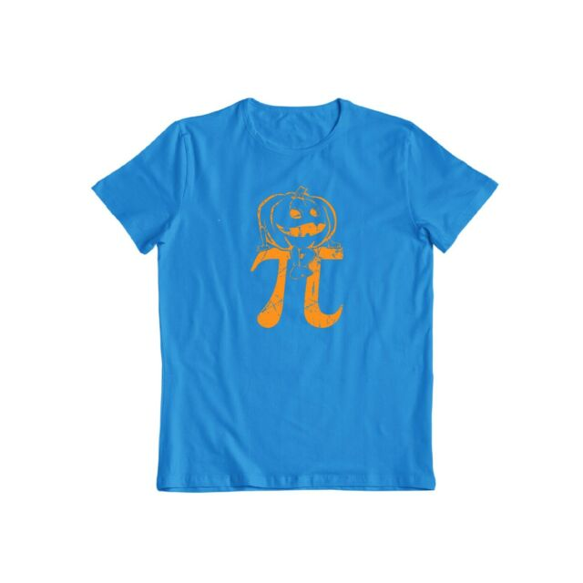 Threadrock Pumpkin Pi T-shirt men/'s//Women/'s Geek Funny Halloween Nerd Tee New 3