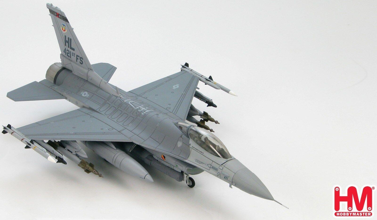 Hobby Master, HA3811 Lockheed F-16CG, USAF 388th FW, Negro viudas, Sellado