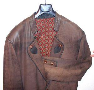 Lederjacke-Gr-50-Jankerlederjacke-Landhausstiel-Herrenjacke-Lederbekleidung