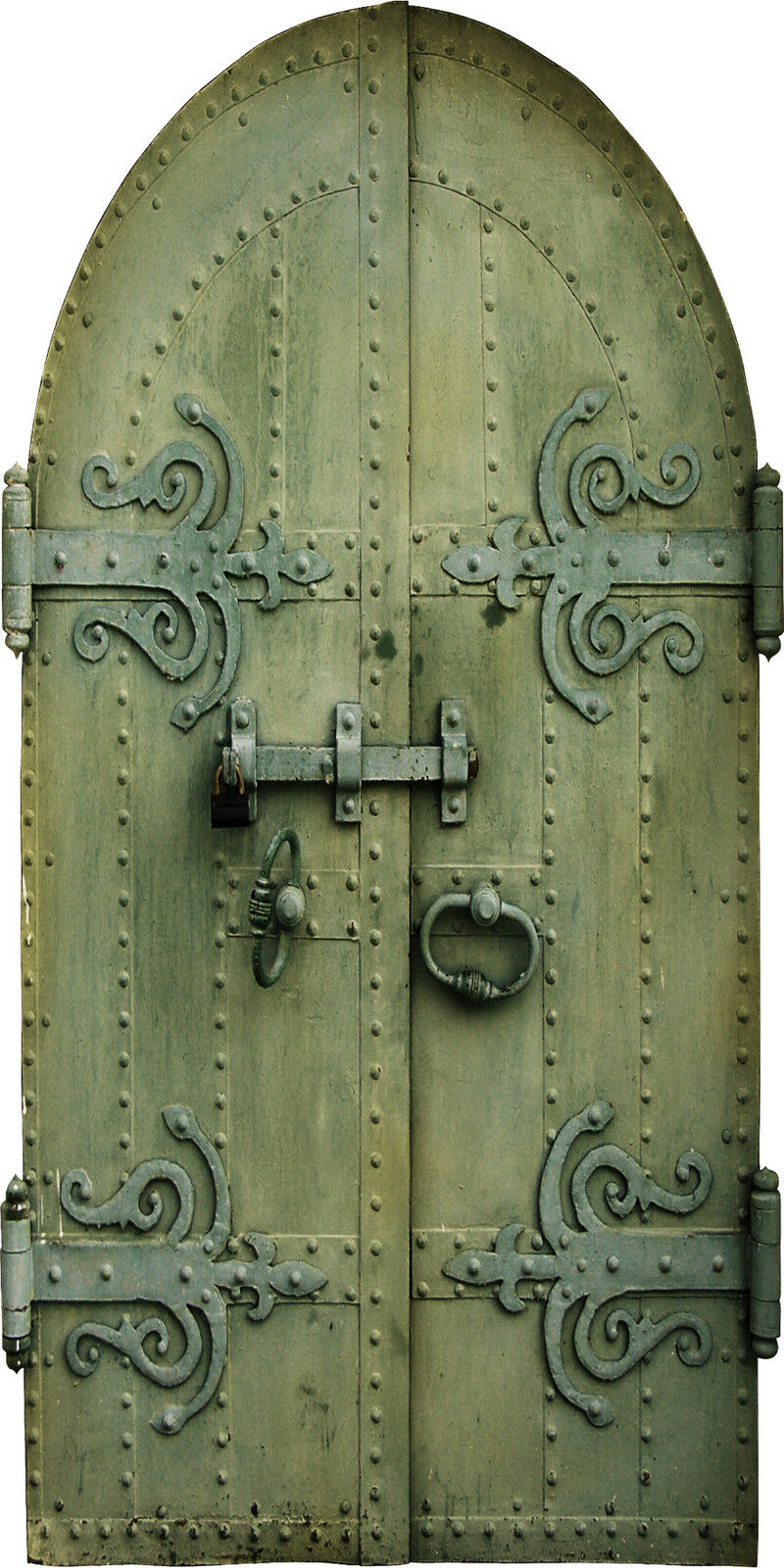 Adhesivo de antigua puerta de Adhesivo tronco trampantojo ref 987 13187e