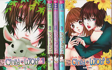 I'M THE ONLY WOLF tomes 1 à 5 Yuki Manga en français shojo SERIE COMPLETE