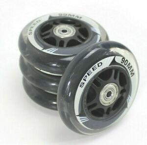 SPEED-Inliner-Rollen-90-mm-Inline-Roller-Skates-ABEC-7-trans-x-4