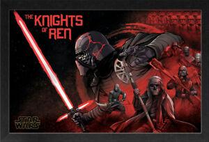 Star Wars Rise Of Skywalker Episode 9 Ix The Knights Of Ren 13x19 Frame Poster Ebay