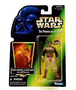 Star-wars-poder-de-la-fuerza-lamina-Lando-Calrissian-como-Skiff-Guardia-figura