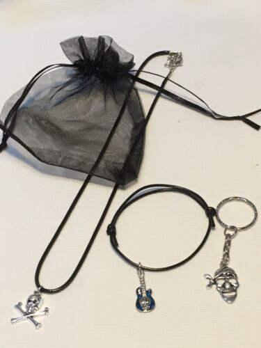 Bracelet /& keyring  Max Postage 79p Pirate Pre Filled Party Bags Necklace