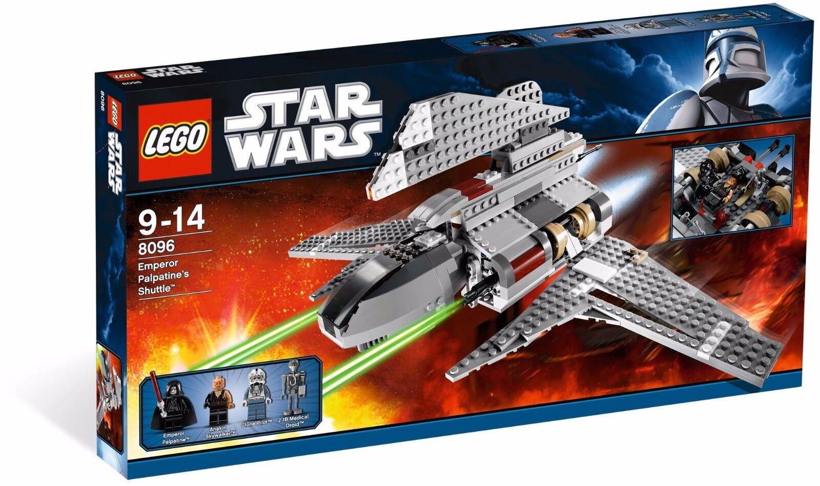 LEGO Star Wars 8096 Palpatine's Shuttle Brand New in Sealed Box