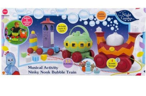 In the Night Garden Musical Activity Ninky Nonk Bubble Train