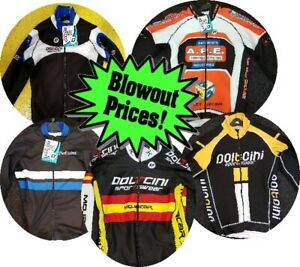 CLEARANCE-NEW-Doltcini-TECH-Pro-Winter-Cycling-Jersey-Top-UK-STOCK-RRP-145