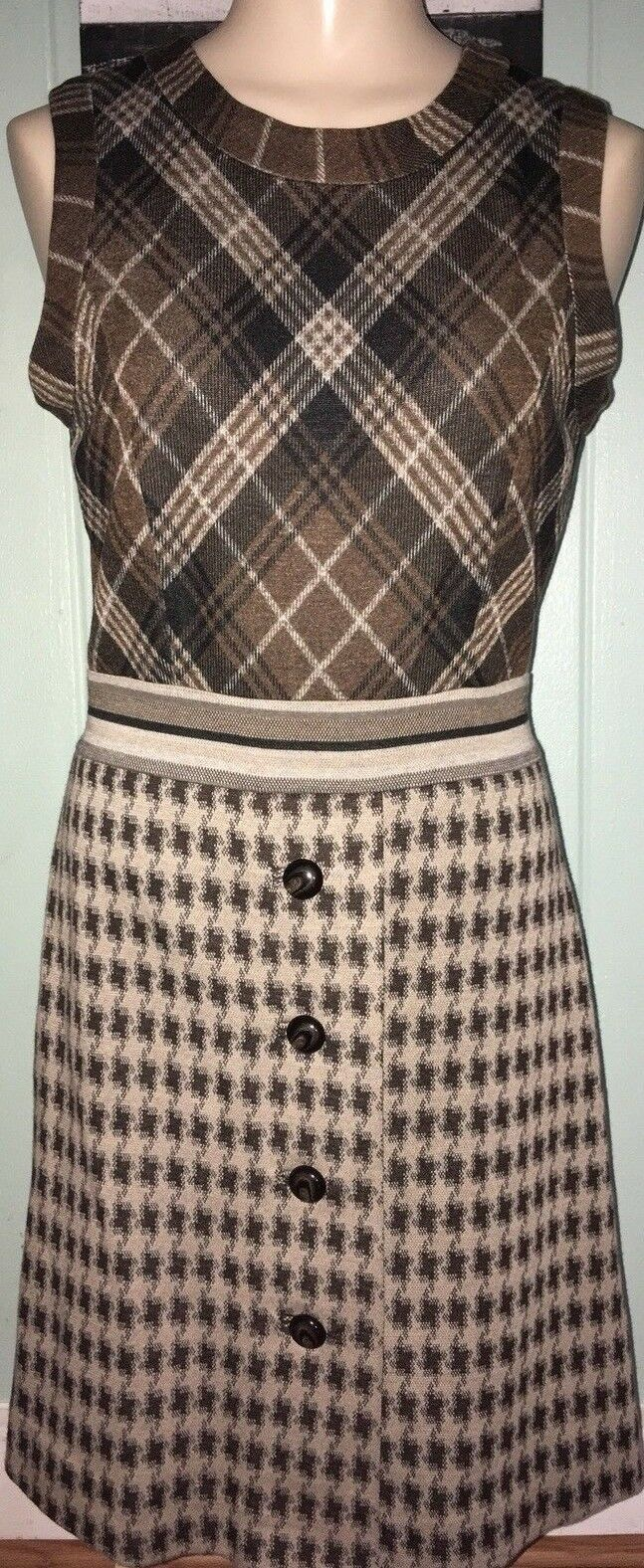 Christian Francis redh Dress Small Brown