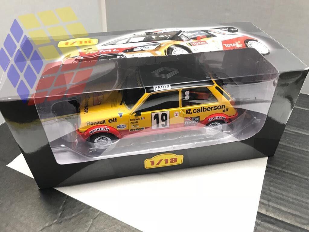 COCHE RALLYE RENAULT 5 ALPINE     19 - Rally MonteCarlo 1978 - J. Ragnotti (1 18) 4ded6a