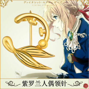 Anime-Violet-Evergarden-Brooch-Collar-Pin-Anime-Badge-Lapel-Pins-Cosplay-Props